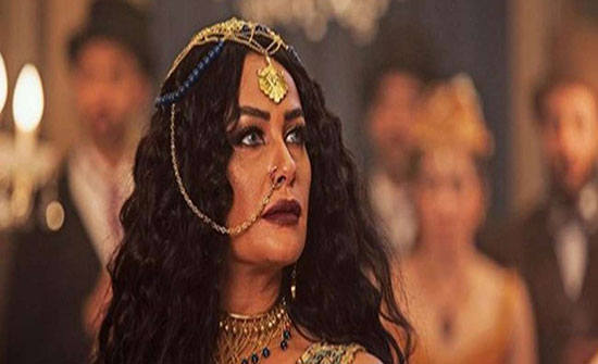 هند صبرى تظهر فى شكل لوليا عرافة الغجر