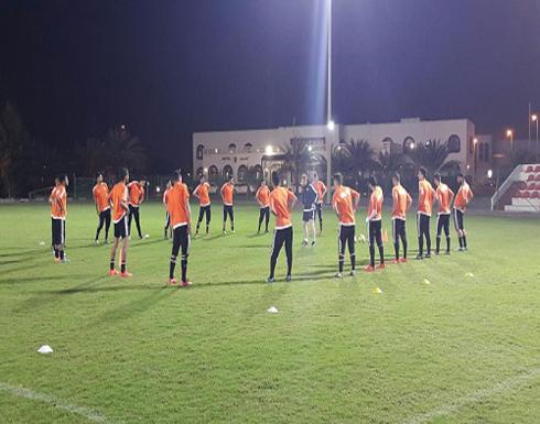 أولمبي الأردن يتدرب في الإمارات استعدادًا لبطولة دبي