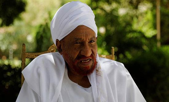 المهدي يدعو لتوحيد القوات المسلحة في السودان