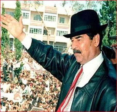 """هذا ما وجدوه في القصور الرئاسية لصدام حسين """" فيديو """""""