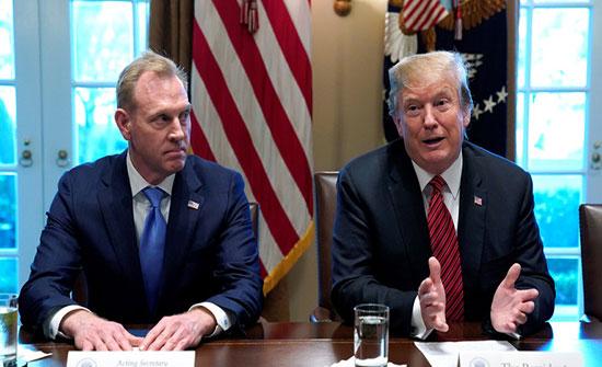 """""""نيويورك تايمز"""": ترامب أبلغ القائم بأعمال وزير الدفاع الأمريكي بعدم رغبته في خوض حرب مع إيران"""