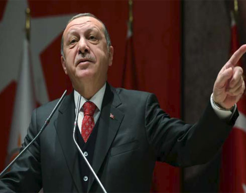 "أردوغان يتوعد بـ""سحق"" قوات أسستها أمريكا شمال سوريا"
