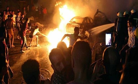 شظايا إنفجار القاهرة تطال فنانة شهيرة (صورة)