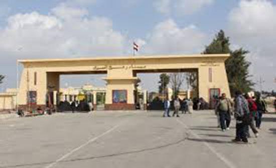 إغلاق معبر رفح بين قطاع غزة ومصر يوم غد الخميس