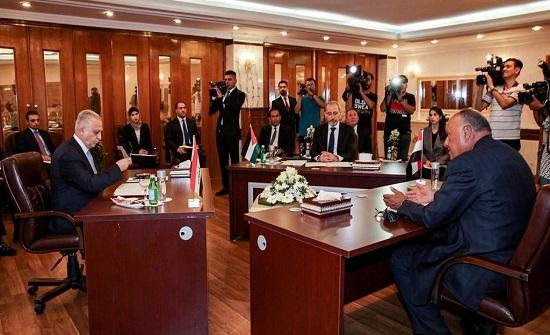 """الأردن ومصر والعراق يدعون لـ """"خفض التصعيد"""" في الخليج"""