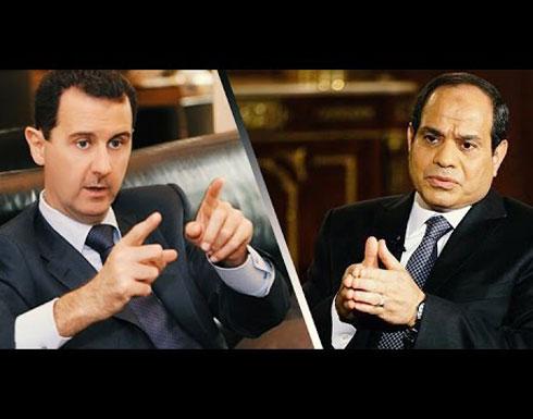 """أسوشيتد برس: الأسد طلب مساعدة السيسي في محاربة """"الإرهاب"""" فأرسل له علي مملوك"""