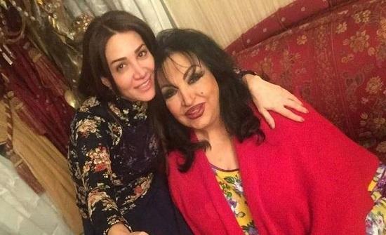 ديانا حداد تنبري لمساعدة سميرة توفيق بالفيديو على تكذيب خبر وفاتها