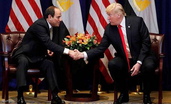 ترامب والسيسي يبحثان هاتفيا الوضع في ليبيا والسودان