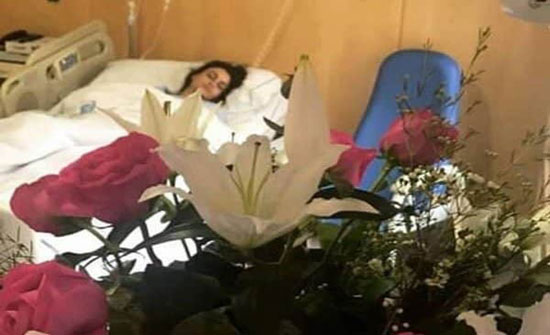 بالصور – أول ظهور لعلا الفارس بعد العملية الجراحية... شاهدوا كيف بدت