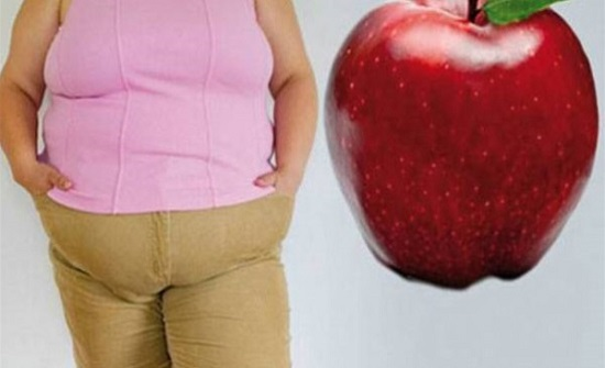 لو جسمِك على شكل تفاحة.. هذه الأمراض تهدد حياتك