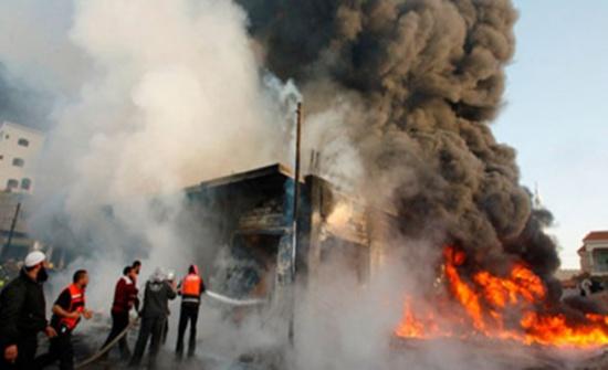 مقتل خمسة عراقيين واصابة 20 اخرين بتفجير ببغداد