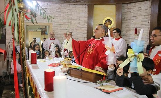 الأب بدر: في الشعانين نصلي من الوطن ونشجب الإرهاب في كنائس سيرلانكا