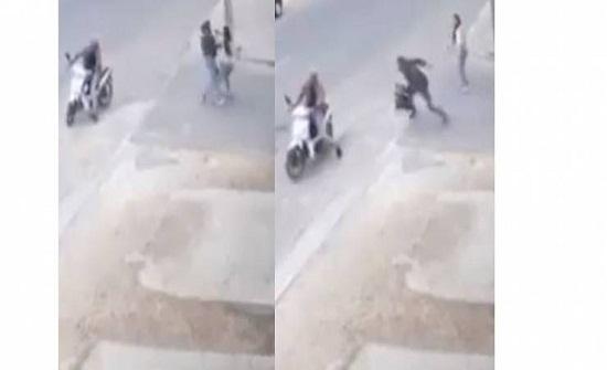 فيديو| ماذا فعل لصوص بفتاة مغربية في وضح النهار!؟