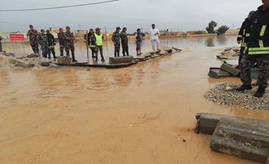 ارتفاع عدد وفيات السيول الى 12