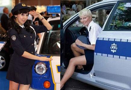 الشرطة النسائية في العالم ( صور الجزء الاول )