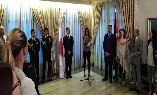 السفير الياباني يعرب عن تقدير بلاده لسياسة الأردن المعتدلة