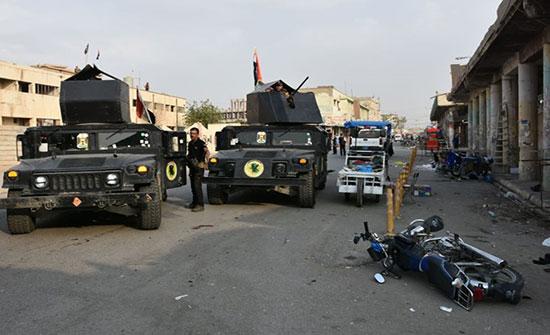مقتل 4 من ضباط الشرطة الاتحادية العراقية في انفجار قنبلة بكركوك
