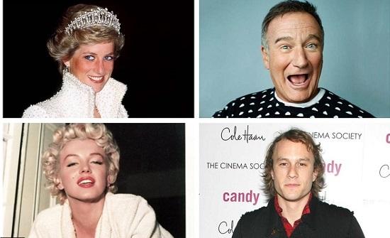 صور: بالانتحار.. مشاهير قرروا إنهاء حياتهم بأنفسهم بعضهم نجح
