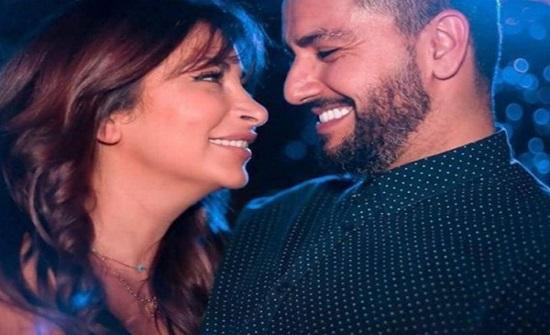 ديما بياعة تثير الجدل برقصة جديدة جريئة مع زوجها