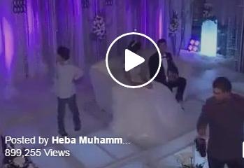 بالفيديو.. أم تشعل حفل زفاف ابنتها بأغنية خاصة للعروس