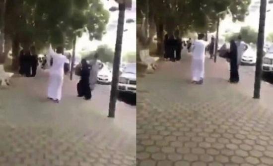 بعد القبض عليهما.. هذا ما زعمه الشاب الراقص مع فتاة في أحد شوارع السعودية!