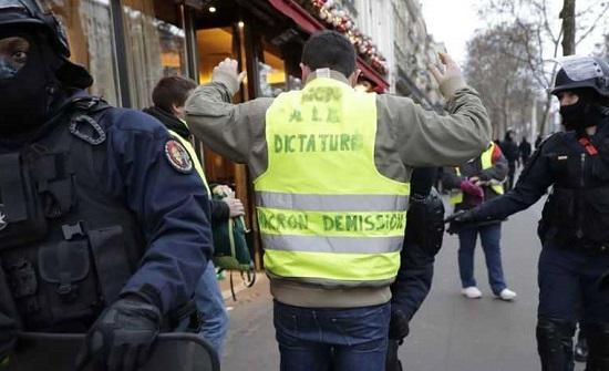 """فرنسا تستبق """"ثورة السبت"""" باعتقال المئات"""