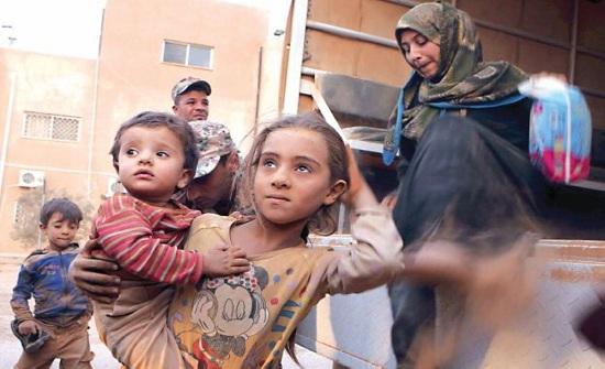 """الأردن : عودة دفعة جديدة من اللاجئين السوريين عبر """"جابر-نصيب"""""""