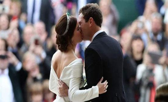 زواج ملكي جديد يخطف الأنفاس في بريطانيا.. اوجيني الى القفص الذهبي! (فيديو)