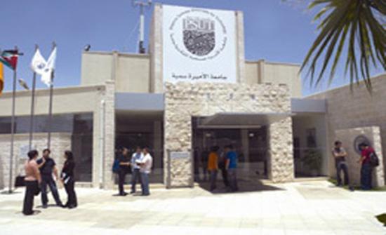 تشكيلات أكاديمية في جامعة الأميرة سمية للتكنولوجيا