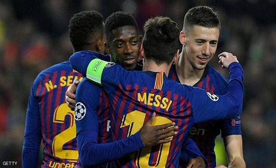 ضربة قوية لبرشلونة في دوري الأبطال