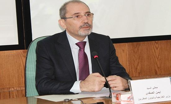 الصفدي : لابد من إيجاد حل سياسي يضمن وحدة سوريا- تفاصيل