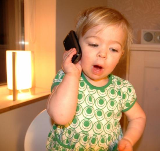 هاتف محمول للأطفال من سن 4 سنوات ببريطانيا