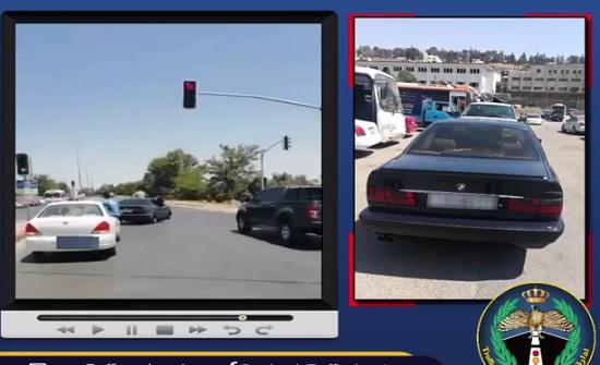 حجز مركبة قام صاحبها بالتشحيط بطريقة خطيرة - شاهد الفيديو