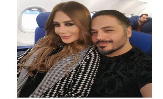 بالصورة – زوجة رامي عياش تمارس الرياضة رغم حملها... هل ظهرت عليها علاماته؟