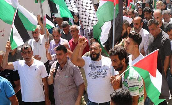 اضرابات واعتصامات في المخيمات الفلسطينية جنوبي لبنان