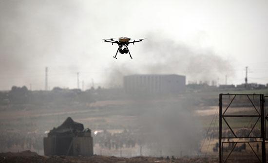 الاحتلال يزعم إسقاط طائرة مسيرة أطلقت من قطاع غزة