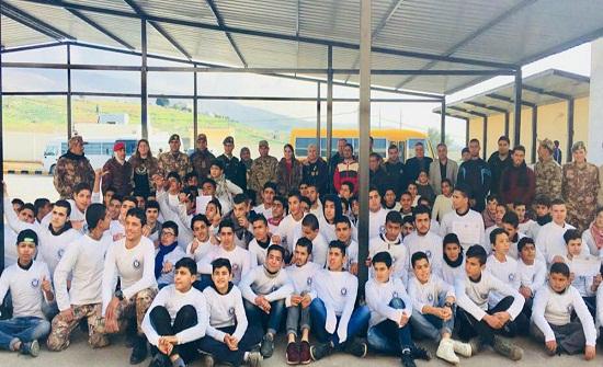 الاغوار الشمالية :جائزة الحسن للشباب تختتم أول معسكراتها الشتوية