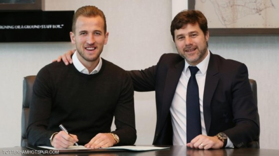 كاين يوقع عقدا جديدا مع توتنهام حتى 2022