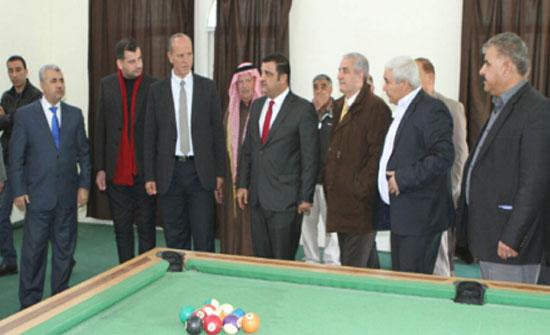 وزير الشباب يطلع على احتياجات نادي حوارة