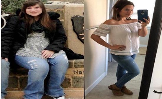 من 118 كيلو إلى 64... هكذا خسرت وزنها الزائد بأسهل الطرق