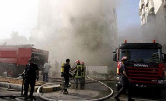 ثلاث وفيات وخمس اصابات بحريق منزل بأربد