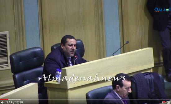 بالفيديو : تسجيل لكلمة النائب غازي الهواملة حول العفو العام