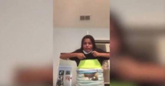 فيديو: ارتدت 100 قطعة ملابس فوق بعضها وتفاجئت حين خلعتها..!!