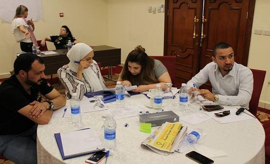 """صور : اختتام ورشة عمل """"مهارات كسب التأييد"""" من برنامج اكاديمية الشباب"""