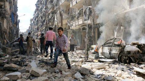 مقتل 6 لاجئين فلسطينيين باستهداف النظام لسيارتهم بدمشق