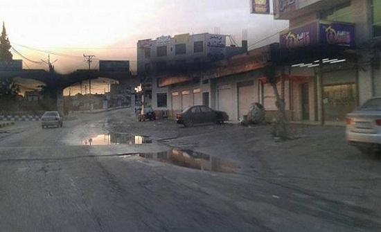 """""""بلدية السرو"""": حل جذري لمشكلة برك مياه مدخل بني كنانة"""