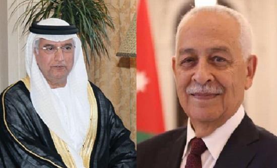 رئيس الديوان الملكي يستقبل سفير دولة الإمارات احمد البلوشي