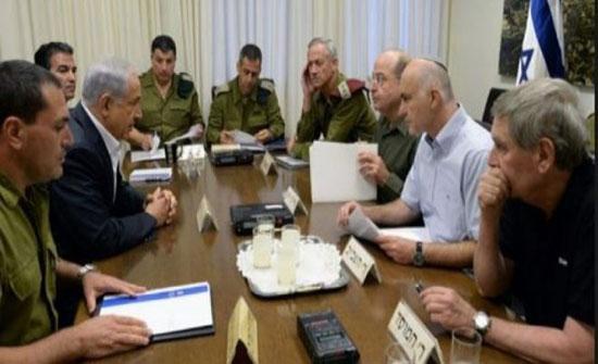عقب اطلاق صاروخين من غزة.. نتنياهو يجتمع مع رئيس الأركان لإجراء مشاورات أمنية
