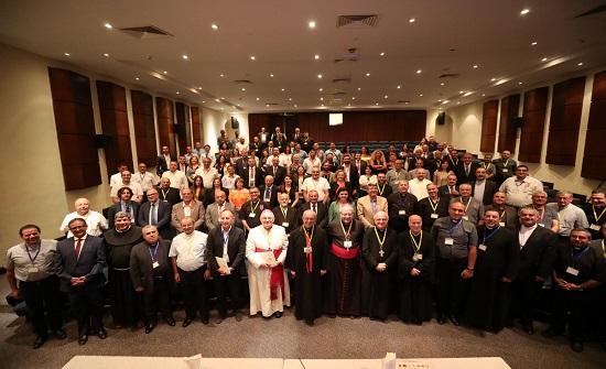 """"""" انطلاق مؤتمر القانون الكنسي الثامن في البحر الميت ... الاثنين """""""