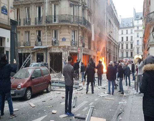 4 قتلى و50 مصاباً في انفجار غاز وسط باريس (فيديو)